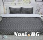 Спално бельо памучен сатен Болеро