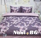 Спално бельо памучен сатен Зора